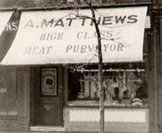Albert Matthews Online butcher